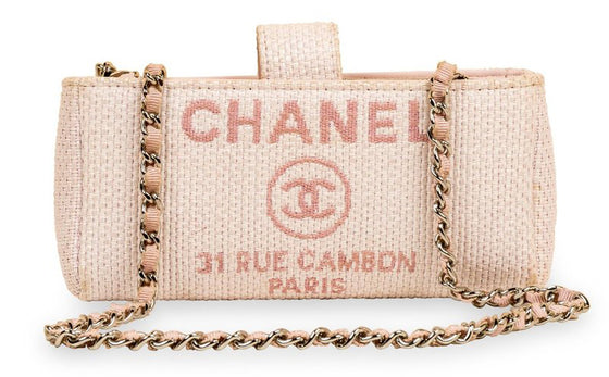 Chanel Deauville Pouch On Chain