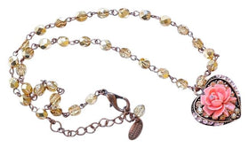 Anthropologie Gold Seasonal Whisper 2 Ways Necklace