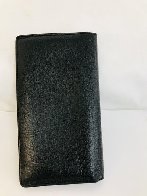 Chanel Black Bifold Yen Wallet