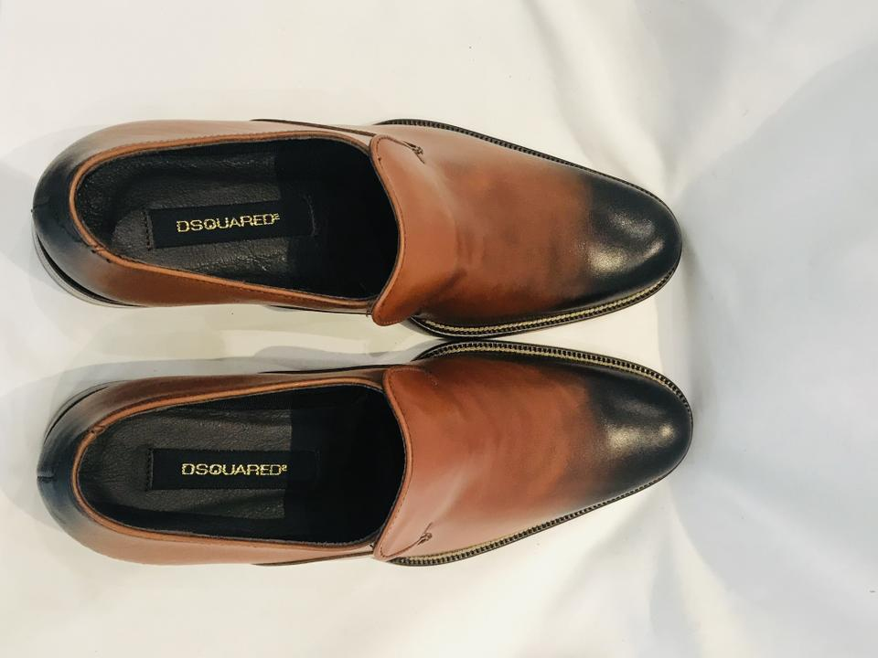 Dsquared2 Men Brown Flats Size 40 (NWT)