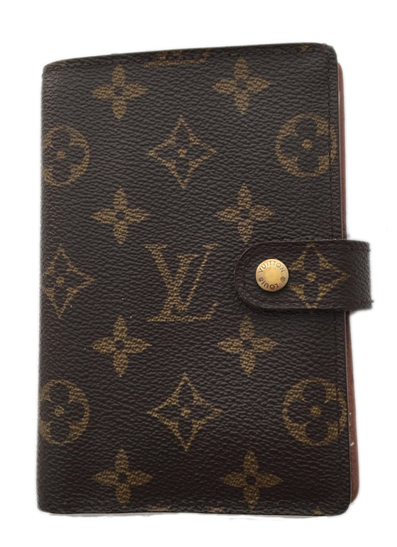 Louis Vuitton Monogram Medium Ring Agenda