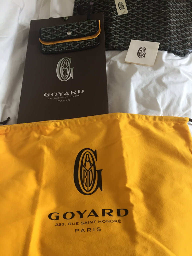 Goyard St. Louis Black Tote PM (NWT)