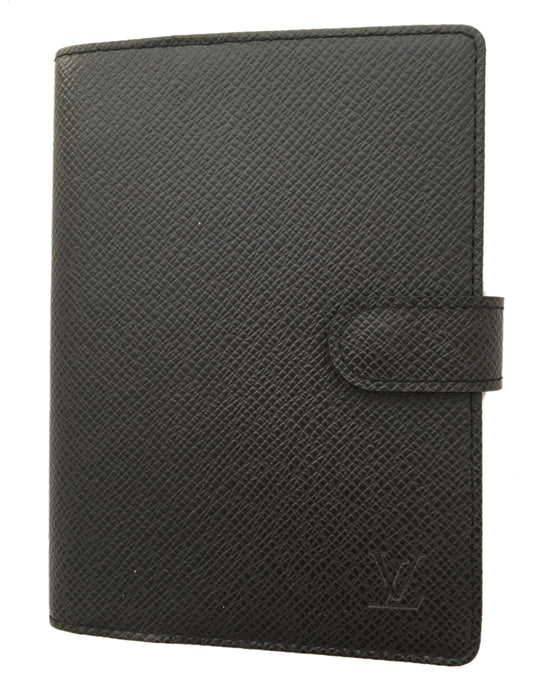 Louis Vuitton Black Ring Agenda