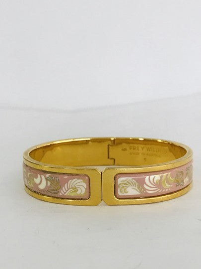 Frey Wille Pink Gold Magic Sphinx Clasp Bracelet