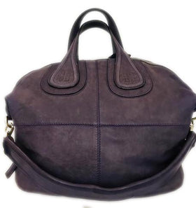 Givenchy Sugar Goatskin Medium Nightingale Purple Leather Tote