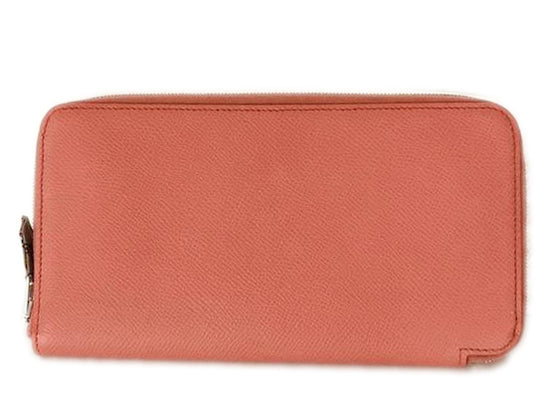 Hermès Pink Epsom Silk In Rose Jaipur Wallet