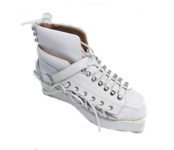 Jeffrey Campbell White Majken Sneakers Size US 9 Regular (NWT)
