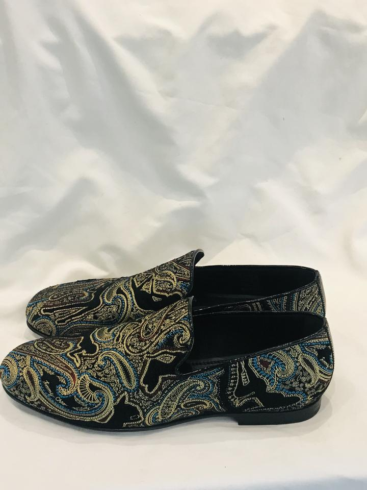Jimmy Choo Men Embroidered Sloane Shoes Size 40 (NWT)