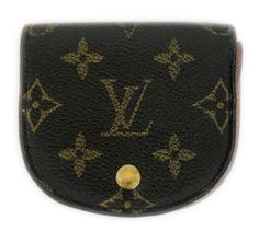 Louis Vuitton Monogram Canvas Porte Monnaie Gousset Coin Purse
