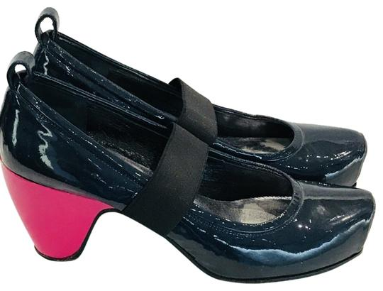 Marc by Marc Jacobs Blue Color Block Pumps Size 37
