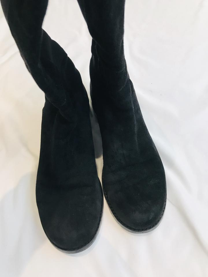 Stuart Weitzman Black Over The Knee 5050 Boots Size US 5.5