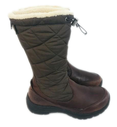 UGG Australia Brown Snowpeak Shearling Boots Size 6