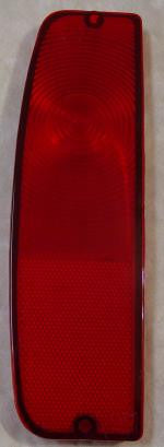 69-12011 Tail light Lens 66-67 All red left side for Early Bronco