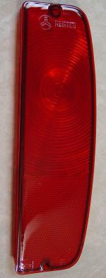 69-12012 Tail light Lens 66-67 All red right side for Early Bronco