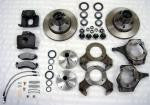 34-11122 Complete Front disk brake kit Extreme ball joints tierod under for Early Ford Bronco