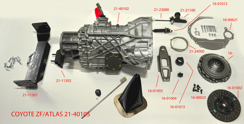 21-40105 ZF Transmission kit for Coyote with ATLAS