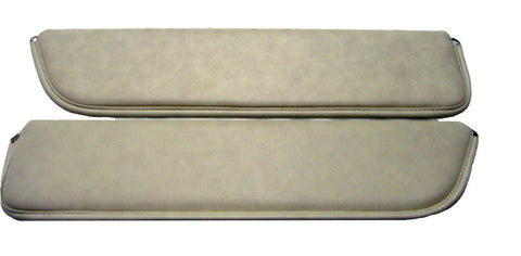 75-00082  Sun visors Parchment for Early Ford Bronco