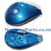 Hyosung GV650 Aquila Fuel Gas Tank Carby Model Blue