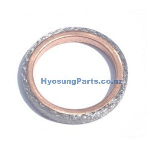 Hyosung Exhaust Pipe Header Gasket GT125 GT125R GT250 GT250R RX125SM RT125D GD250N MS3-125 MS3-250 GV125 GV250