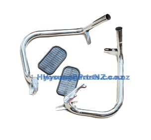 Hyosung Engine Guard Kit Carb Dual Muffler GV125 GV250