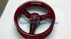 Red RearWheel GV650