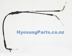 Throttle Cable Hyosung GT250R EFI (P/N:58300HR8601)