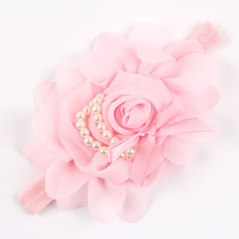 New Arrival in 12 Colors! Stretchy Rose Flower Baby Headbands - Buy All Means - 1