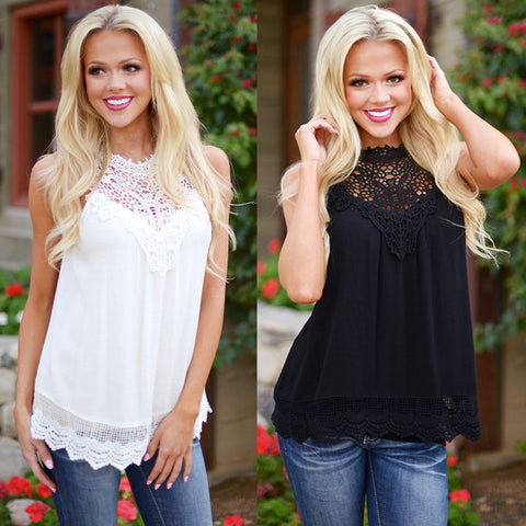 Lace Vintage Crochet Top