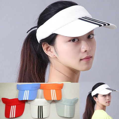 7 Colors Adjustable Unisex Outdoor Sun Visor Hat