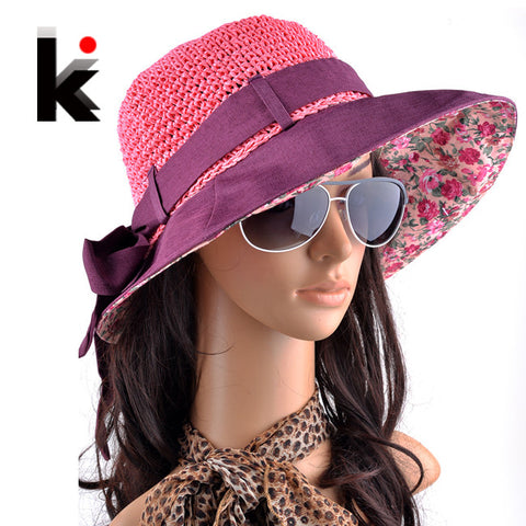 Beach straw hat- 4 colours