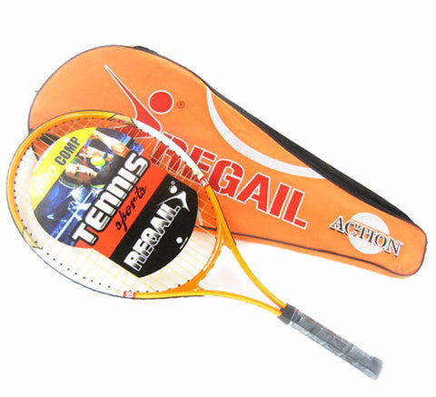 Aluminum Alloy Adult Racket with Bag