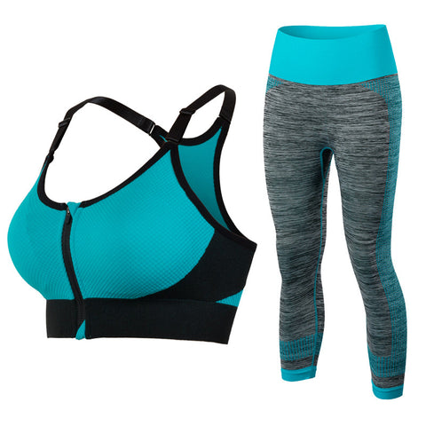 New Women's Sports Clothing Set