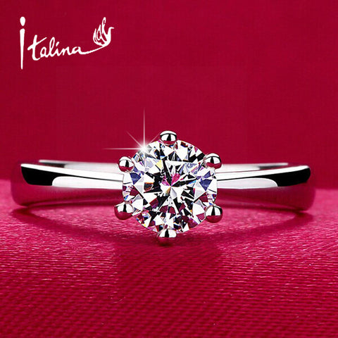 Classic Design Simulated Diamond Wedding Ring - Buy All Means