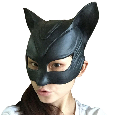 Catwoman Party Halloween Mask