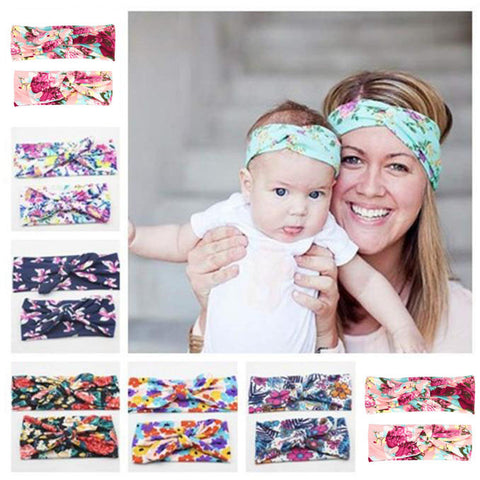Mommy and Baby Matching Headbands - 1st Time Mom Gift
