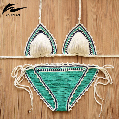 Crochet Bikini Swimsuit - Buy All Means - 1