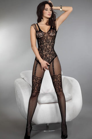 Sexy Black Bodysuit Lingerie - New Fashion for Women - Buy All Means - 1