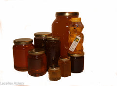 Jars,Pails and Pure Unpasteurized Honey
