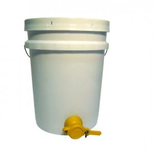 Honey Pail - 5 gal  with delux gate