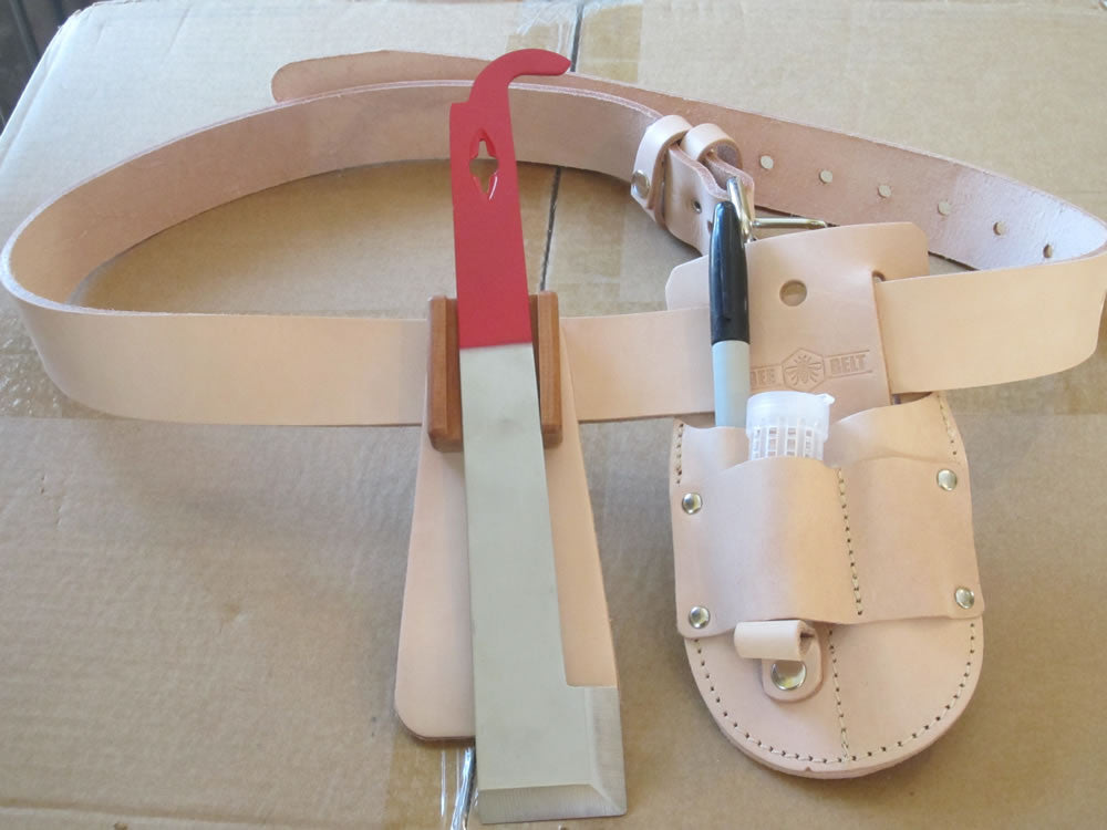 Leather Toolbelt for Beekeepers