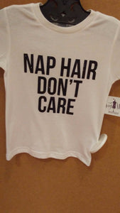 Nap Hair Tee- Toddler