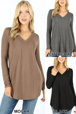 Relaxed Fit V Neck - Plus