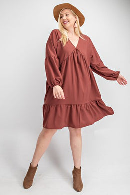 Arianna Dress-Plus