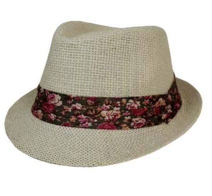 Floral Fedora-Kids – Jenny May Boutique ca7536479f0