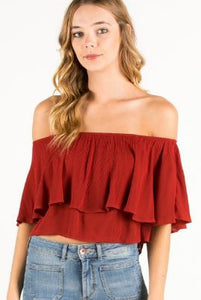 Ruffled Up Blouse
