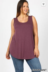 Basic Babe Tank - Plus