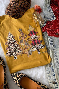 Cheetah Tree Tee