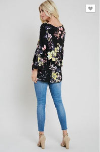 Emily Floral Top