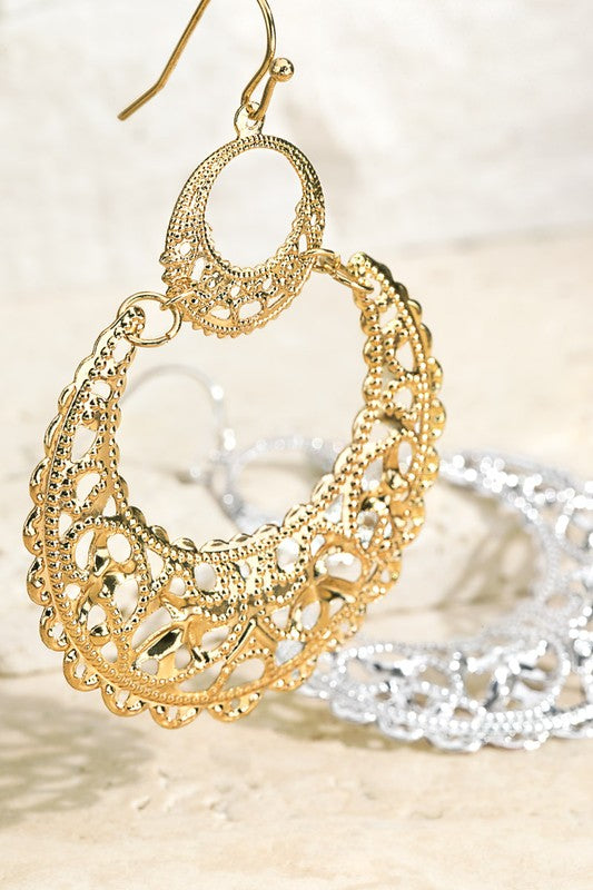 Double Layer Hoops