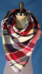 Woven Infinity Scarf